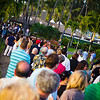 Lining up to get in to the Grand Tasting. The line moved very quickly. © 2012 Sugar + Shake