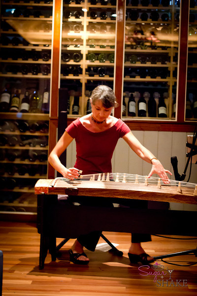 "At Merriman's, a duo was playing Gotye's ""Somebody That I Used To Know."" On a koto. Trippy. © 2012 Sugar + Shake"