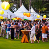 Beautiful outdoor setup on one of the Ritz-Carlton's impeccably manicured lawns. © 2012 Sugar + Shake