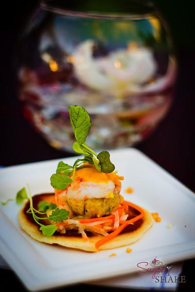 Curried Shrimp Bao Bun from Roy's Kahana Bar & Grill. © 2012 Sugar + Shake