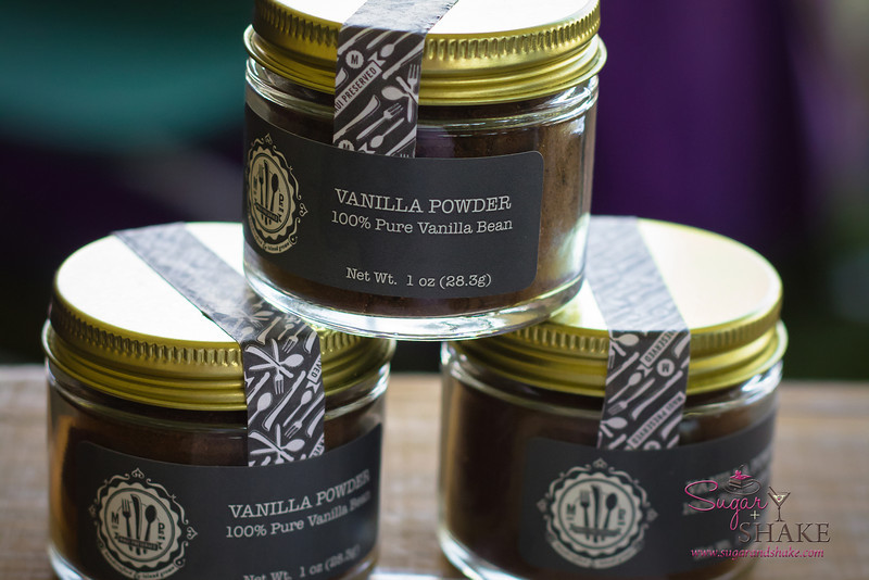 Vanilla powder, made from locally grown vanilla beans (both seeds and pods, finely ground), from Maui Preserved. © 2013 Sugar + Shake