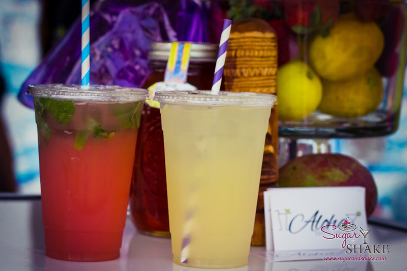 Guava Kiss and Lavender Lemonade from Aloha Bars Maui. © 2013 Sugar + Shake