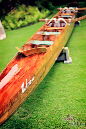 Back to Kapalua for more Celebration of the Arts. The festival runs over two days, and all sorts of cultural practitioners and artists come to the Ritz-Carlton to show off their work and offer workshops. The local canoe club organization came to talk about the tradition of the outrigger canoes. © 2012 Sugar + Shake