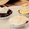 And more desserts! Clockwise from left: chocolate cream pie (very rich and dense), banana cream pie and coconut cream pie. All totally yum. If we had been sure that they would survive the plane ride home, Sugar would have bought half-a-dozen. © 2012 Sugar + Shake