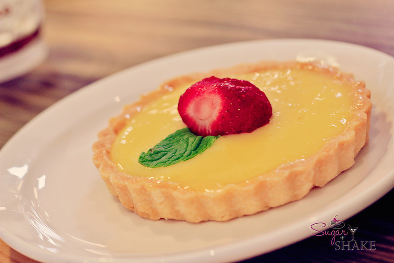 Yuzu lemon tart. Because Sugar didn't have enough sugar already. © 2012 Sugar + Shake
