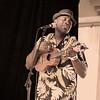 Singer Kamakakehau Fernandez. He sings in the Hawaiian falsetto style, and he's quite talented. © 2012 Sugar + Shake