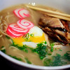 Star Ramen – Pork Broth, Roast Pork, Poached Egg. It comes with bamboo shoots, but we don't care for those, so Sugar asks for it without. The pork broth is incredible here–the restaurant is owned by the same people who operate the Old Lahaina Lu'au, and they use the bones from the kalua pig to make the broth. Mmmm... © 2012 Sugar + Shake