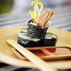 Chef Tylun's Korean Beef Jun Sushi. © 2012 Sugar + Shake