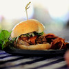 Chef Marc's Porchetta Slider. Pork galore. It took the People's Choice Award for the competition. © 2012 Sugar + Shake