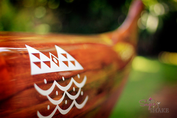 Their canoes are just beautiful. Handmade, and if you want to participate in certain races, your team MUST compete in a wooden canoe, like this one. © 2012 Sugar + Shake