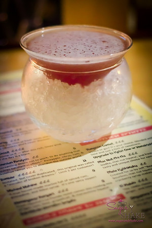 First up for Sugar: a Wicked Wahine. Imbibe picked this recipe to publish in their story. © 2012 Sugar + Shake