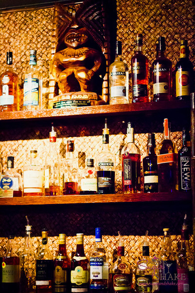 """Completing the tiki theme for the day, we ventured out to <a href=""""http://www.okolemalunalounge.com"""">Okolemaluna Tiki Lounge</a> where we found INCREDIBLE craft cocktails. © 2012 Sugar + Shake"""