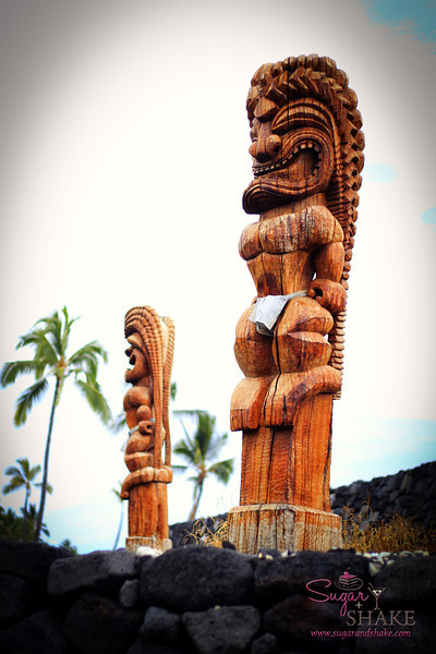 Back at the hotel, we reef walked out to Ke'eku Heiau, which is being restored. © 2012 Sugar + Shake