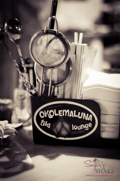 "Okolemaluna Tiki Lounge in Kona was named one of <i>Imbibe</i> Magazine's <a href=""http://www.imbibemagazine.com/Best-Tiki-Bars"">10 Best Tiki Bars</a>. © 2012 Sugar + Shake"