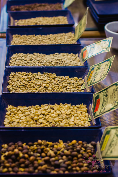 Different varieties and stages of coffee at MauiGrown. © 2013 Sugar + Shake