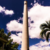 The Lahaina community saved and restored the historic Pioneer Mill smoke stack. © 2013 Sugar + Shake