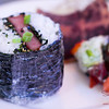 Not exactly on the menu, but Chef Greg Grohowski ordered up some SPAM® musubi...we were incredibly thrilled, having been rice-deprived for weeks while on our road trip! © 2013 Sugar + Shake