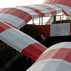 Saratoga Race Course awnings.