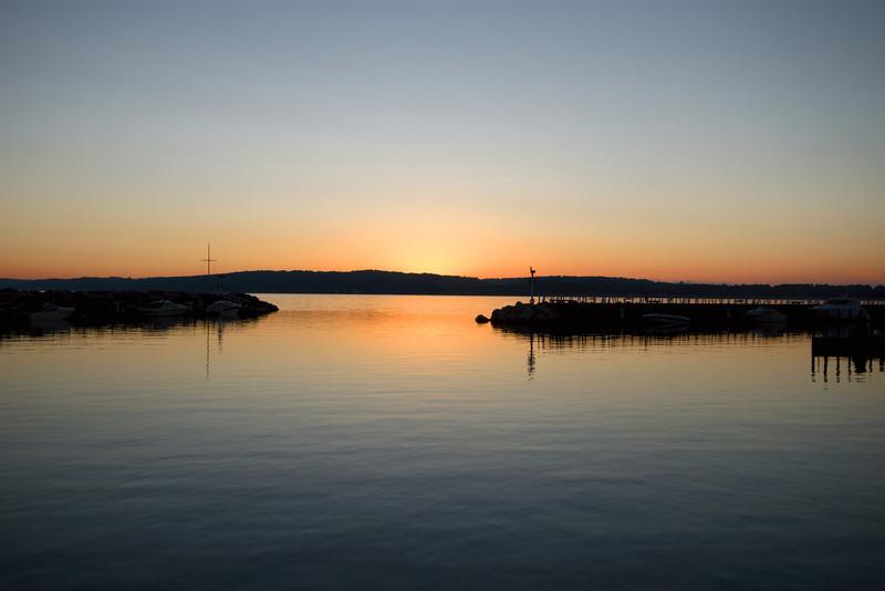 Dawn in the west bay