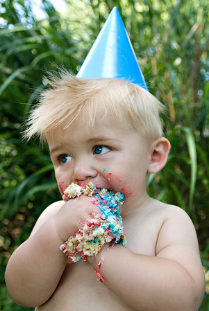 Travis {First Birthday}