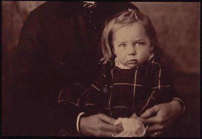 fannie ratchford as child