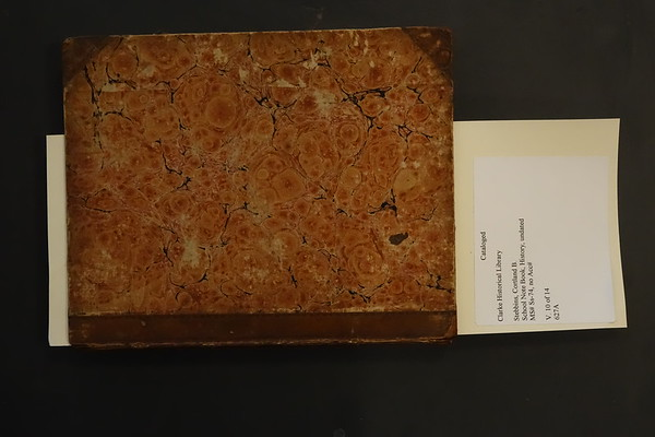 1825b College Notebook Notes