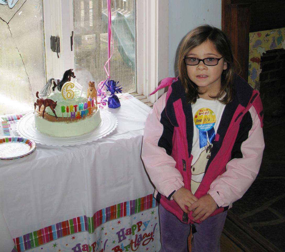 Anna's horse cake