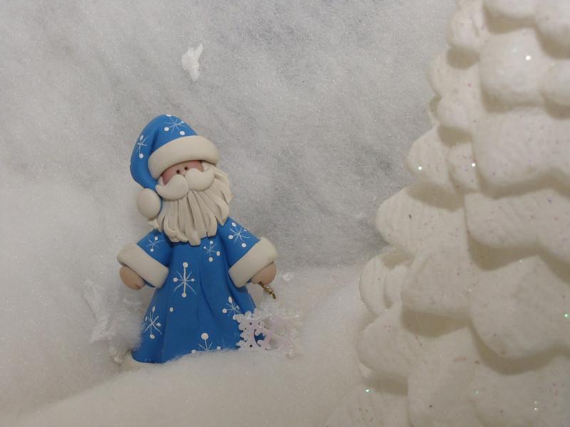A Cindi's Mini Santa.