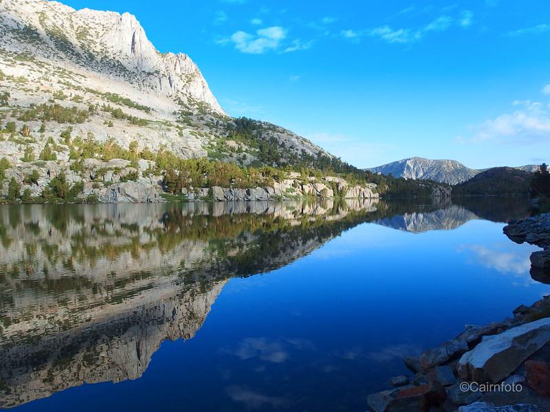 Hurd Peak reflection in Long Lake
