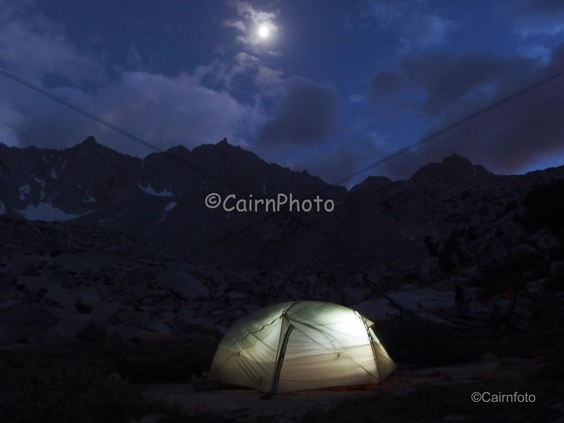 Mt. Goode by moonlight