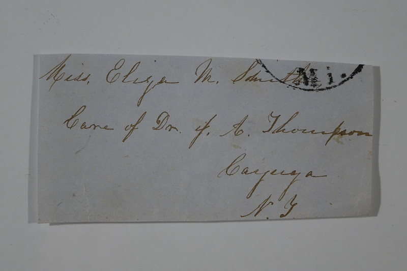 1854 July 4 to Lida from Mollie