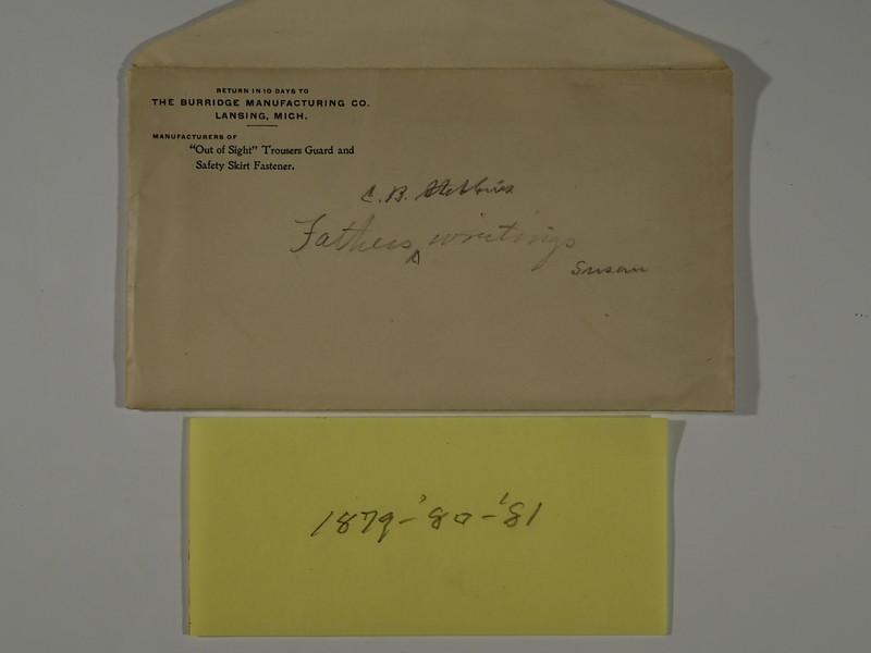 1879 80 81 Cortland Bliss Stebbins Writings