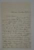 1881 Oct 2 toSusie Stebbins from Arthur C Stebbins