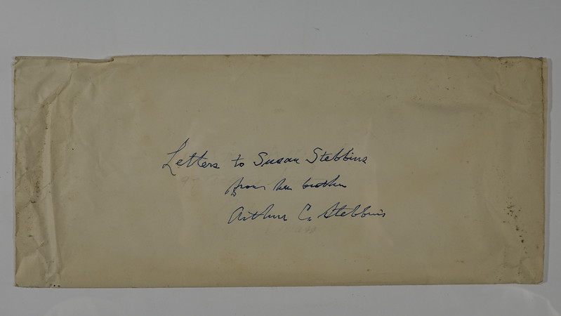 1 Letters to Susan Stebbins from Brother Arthur C Stebbins