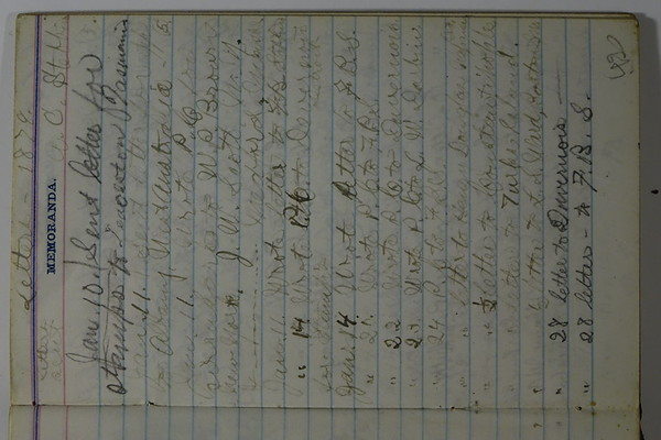 1874 AC Stebbins Daytimer for UofM