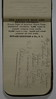 1889 Arthur C Stebbins Expense book maybe for Lansing Company travel