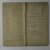 Arthur C Stebbins Expense book Stowell Was born