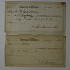 1880 June 15 16 Receipts University of Michigan Arthur C Stebbins