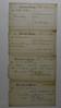1880 Feb 8 9 11 Receipts University of Michigan Arthur C Stebbins