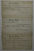 1880 March 12 May 10 Receipts University of Michigan Arthur C Stebbins