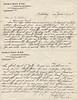 1902 June 13 Letter from Mr JJ Olsen to AC Stebbins re building of Roaring Brook Cottage