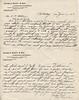 1902 June 11 Letter from Mr JJ Olsen to AC Stebbins re building of Roaring Brook Cottage