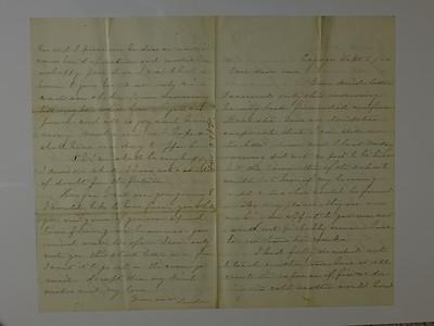 CB Stebbins 1st correspondence