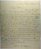 1879 October 20 From Arthur to CB Stebbins Ann Arbor Studies