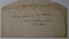 Deeds Envelope AC Stebbins' hadwriting