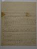 1835 Charlotte to Susan E Burley