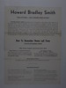 Flyer Howard Bradly Smith how to remember names