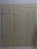 1825 March 29 to Eliza Treadwell from Hanna Hartwell Grandmother of CB Stebbins 1st