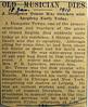 Obituary J Dempster Towne 18 Jan 1910