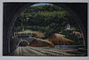 Postcard CDS&L to Arthur 1953 Twin Tunnell Turnpike 1953